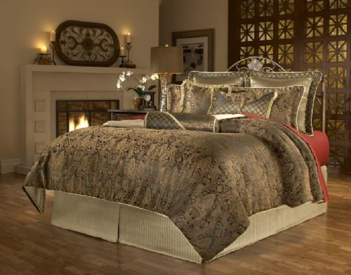 Manchester Deluxe 9  or 11 piece Comforter Set. Manchester Deluxe 9  or 11 piece Comforter Set   Free Shipping