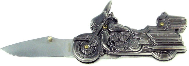 Stainless Steel Motorcycle Chopper Pocket Knife