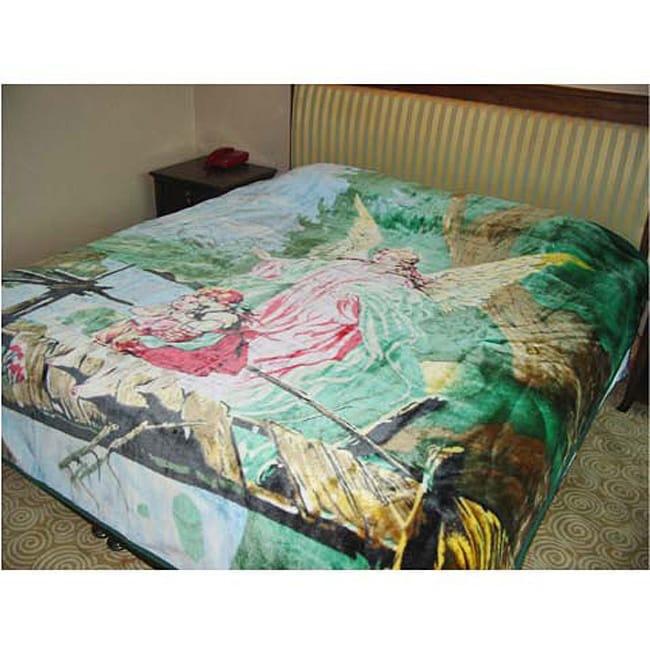 Guardian Angel Design Blanket