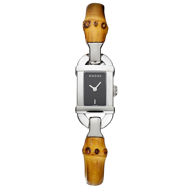 07a10d3a9a4 Shop Gucci 6800 Series Women s Quartz Watch - Free Shipping Today -  Overstock - 3174445