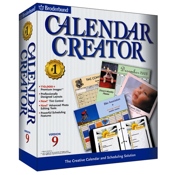 shop calendar creator 9 software free shipping on orders over 45