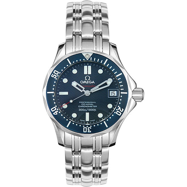 best sneakers 32930 17730 Omega Men's Seamaster Mid-size Watch