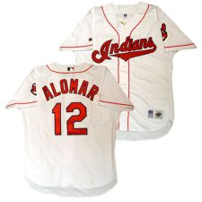 Cleveland Indians Roberto Alomar Home Jersey