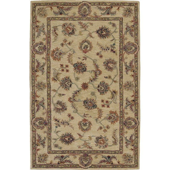 Hand-tufted Bengal Palace Wool Rug (8' x 5')