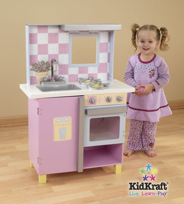Small Pastel Play Kitchen