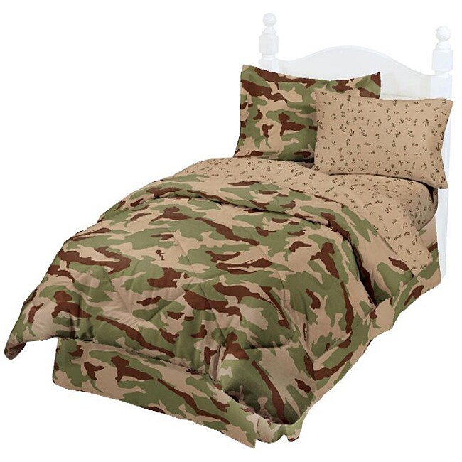 Desert Camouflage 6-piece Bed in a Bag