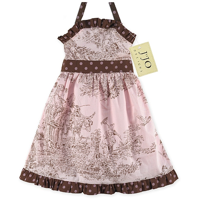 Sweet Jojo Designs Infant Girl's French Toile Dress