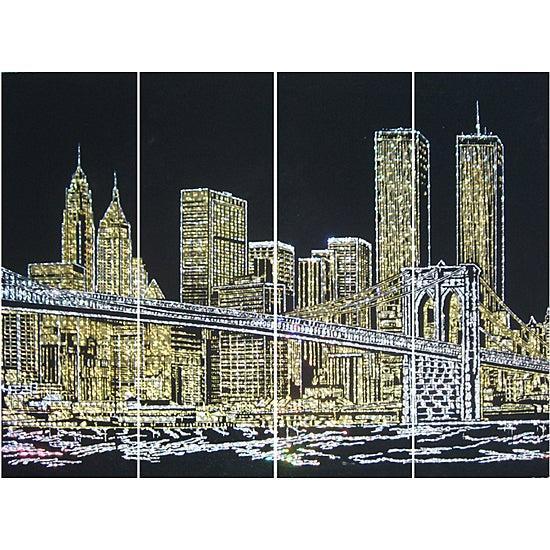 Brooklyn Bridge Black Wall Mirror Free Shipping Today