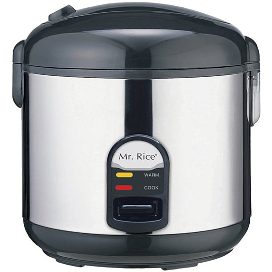 Supentown Stainless Steel 10-cup Rice Cooker