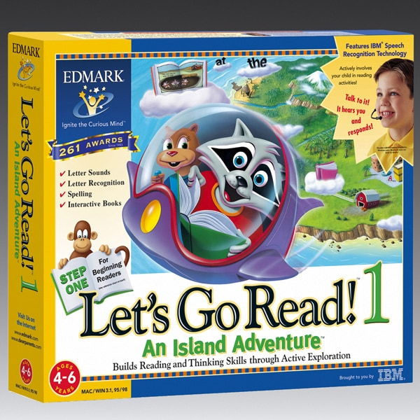 Lets Go Read 1: An Island Adventure Software