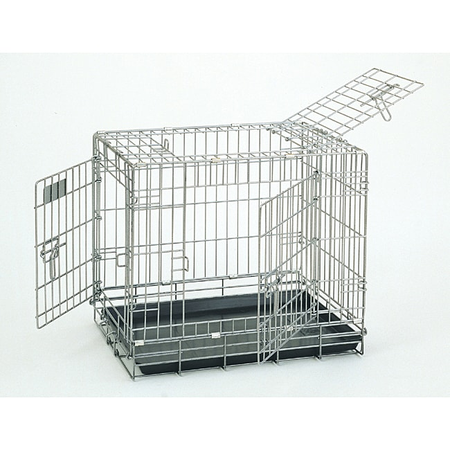 Deluxe Great Crate Sterling 2000 3-door Dog Kennel - Thumbnail 0