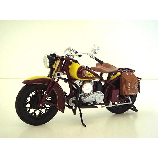 Vintage 1934 Indian Sport Scout Motorcycle Model