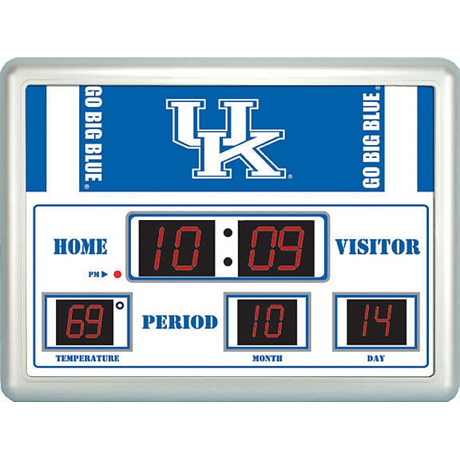 University Of Kentucky Scoreboard Clock Free Shipping