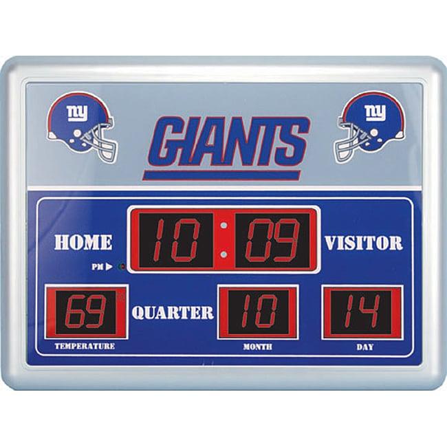 New York Giants Scoreboard Clock Free Shipping Today  : L11346498 from www.overstock.com size 650 x 650 jpeg 62kB