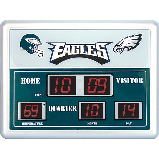 Philadelphia Eagles Scoreboard Clock Free Shipping Today