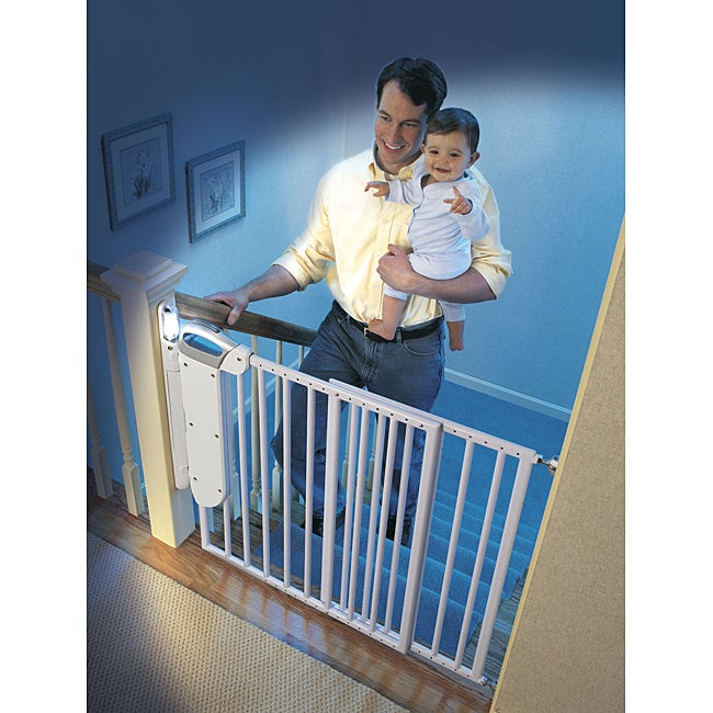 Safety 1st Smart Light Gate Free Shipping Today