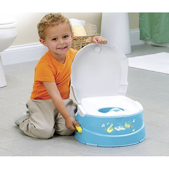 Safety 1st Musical Talkin Potty And Step Stool Free