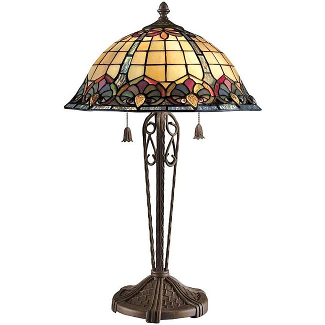 Shop Tiffany Style Art Nouveau Table Lamp Free Shipping Today
