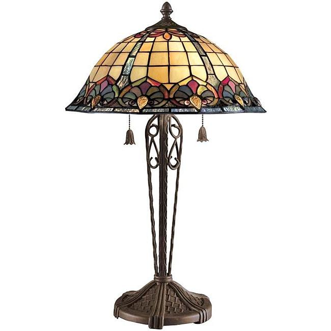 Tiffany-style Art Nouveau Table Lamp - Free Shipping Today ...:Tiffany-style Art Nouveau Table Lamp,Lighting