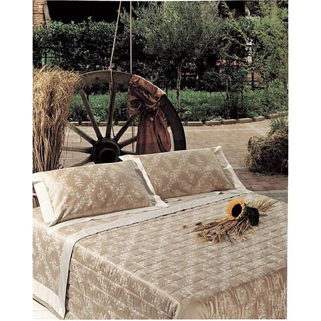 Italian Floreal 460 Thread Count Egyptian Cotton Sheet Set