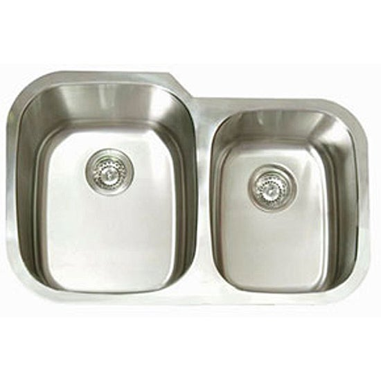 Forgee Double Oval Kitchen Sink - Free Shipping Today - Overstock.com ...