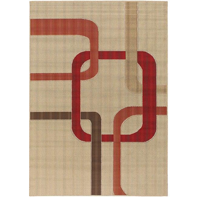 Mandara Indoor/ Outdoor Mandara Collection Rug (7'2 x 10'5)