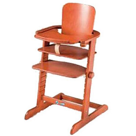 Geuther Family Cherry High Chair