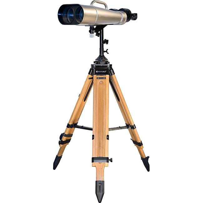 25x/40x100mm Jumbo Binoculars w/ Wooden Tripod