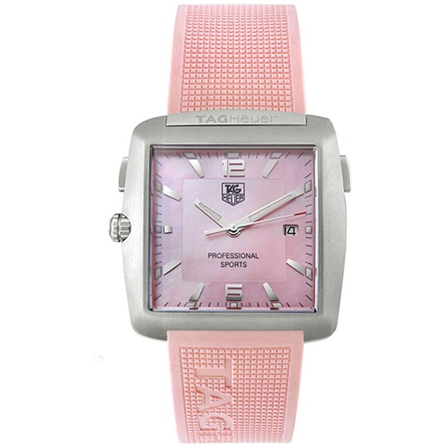 tag heuer tiger woods womens pink watch free shipping