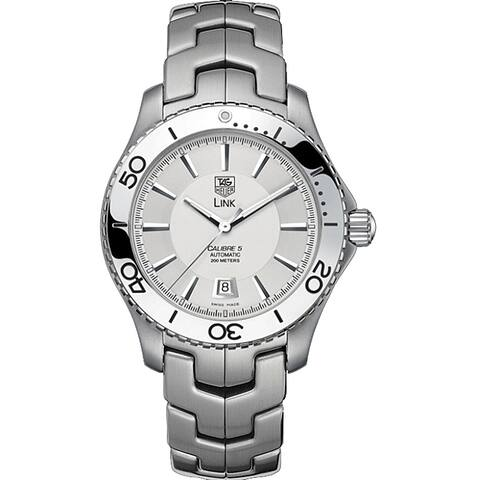 Tag Heuer Men's WJ201B.BA0591 'Link' Automatic Stainless Steel Watch