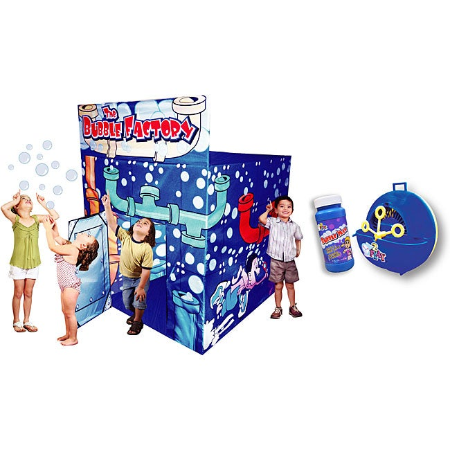 Bubble Factory Play Tent
