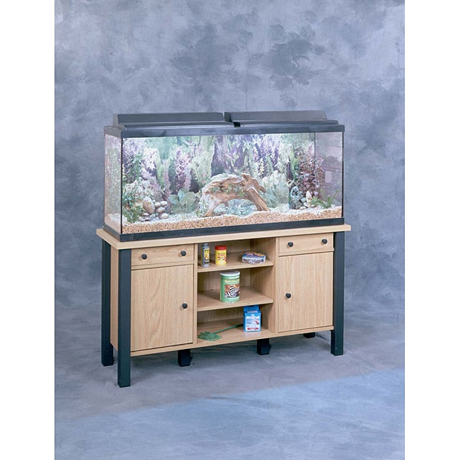 55 Gallon Aquarium Stand - Free Shipping Today - Overstock ... 10 Gallon Fish Tank Stand