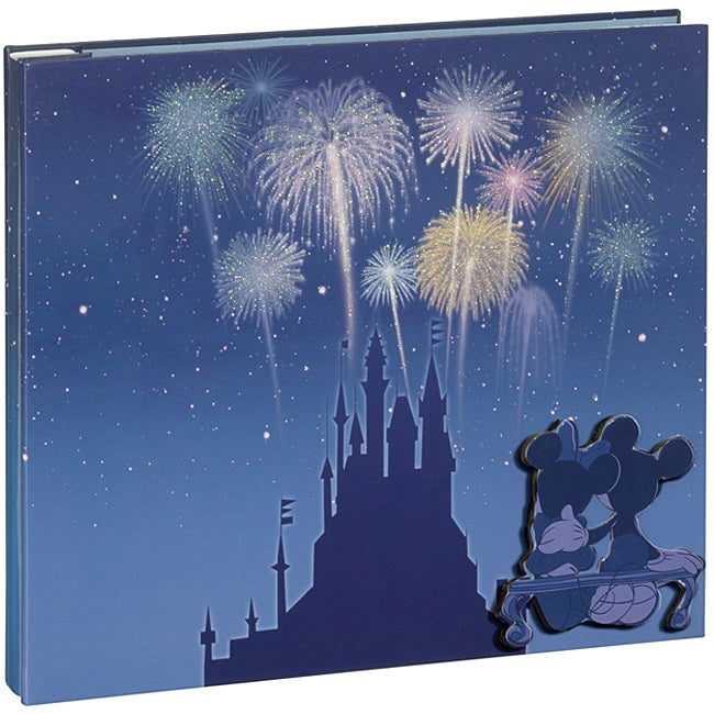 Disney Theme Park Layered Chipboard Cover Album