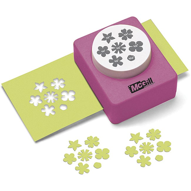 Mcgill Baby Blooms Multi Flower Paper Punch Free
