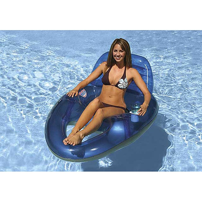Poolmaster Water Pop Deluxe Blue Lounge
