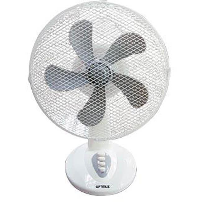 Big Stand Up Oscillating Fan : Optimus f inch oscillating table fan free