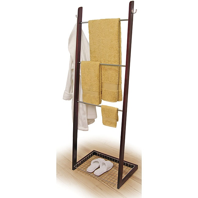 Three Tier Bath Ladder Towel Rack Free Shipping Today