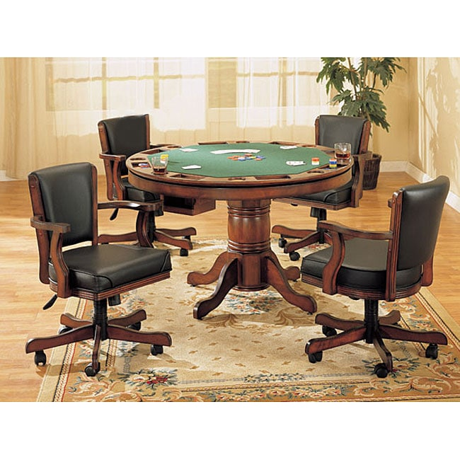 Shop Poker Game Table and Chair Set - Free Shipping Today ...
