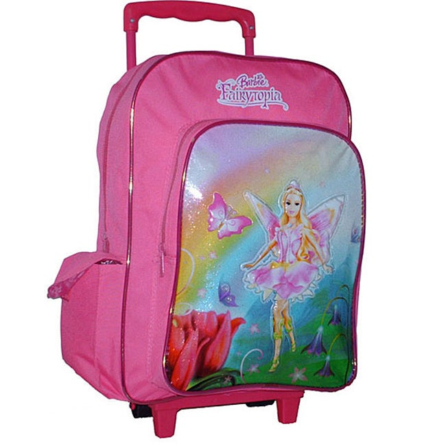 Barbie Large Wheeled Backpack