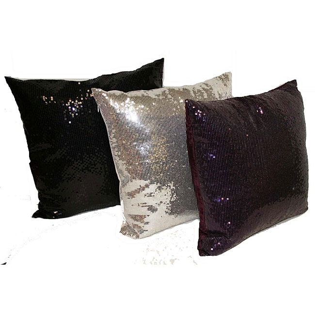 Jane Seymour Sequin Pillow