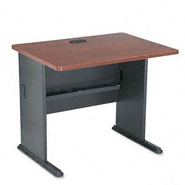 Bush Advantage Hansen 36-inch Cherry Computer Desk - Free Shipping