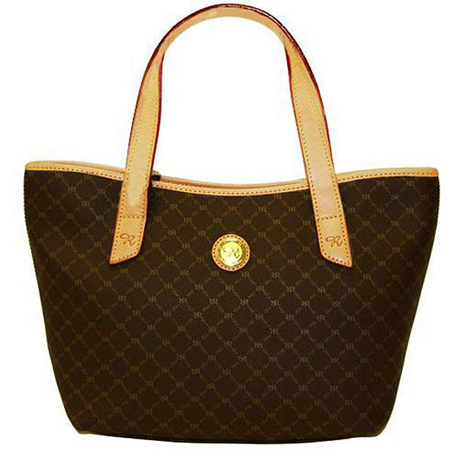Shop Rioni Signature Women s Tulip Tote - Free Shipping Today -  Overstock.com - 3298116 bacd5a1d71