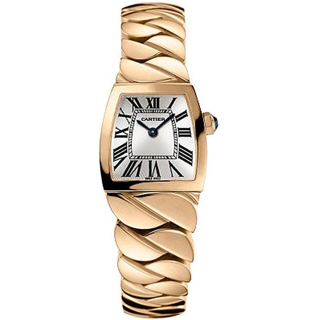 Cartier Damen kleine Uhr Dona Gold 18kt Rose La: