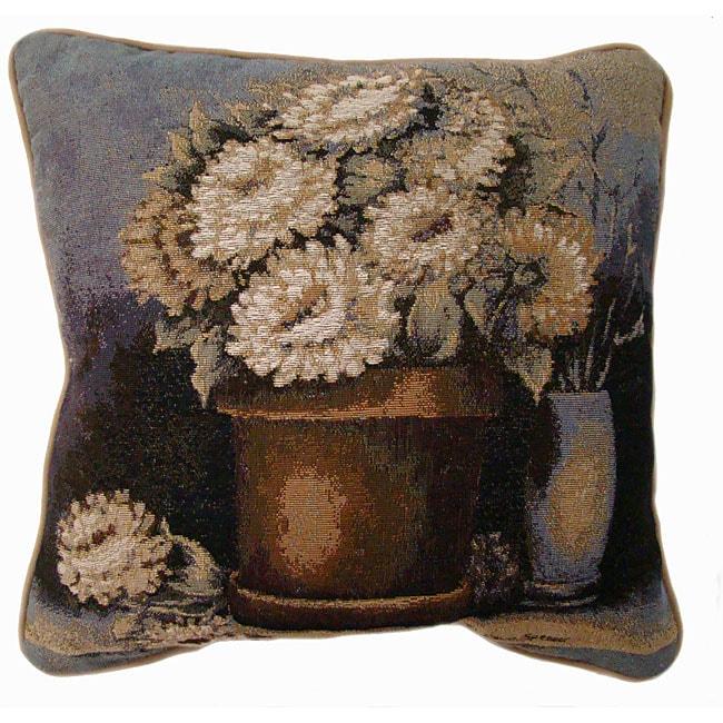 Flower Bouquet Tapestry Pillows (Set of 2)