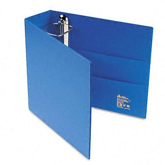 shop avery 3 inch heavy duty blue vinyl ezd ring reference binder