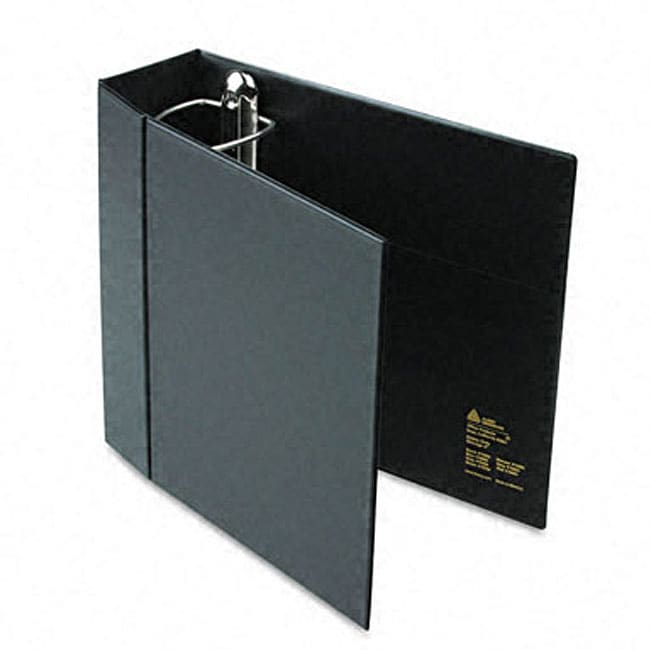 shop avery 4 inch heavy duty ezd ring binder with label holder