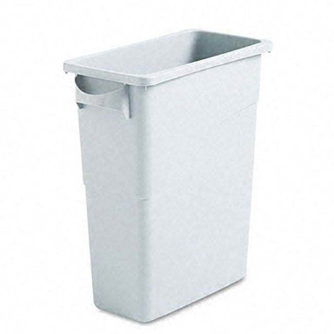 rubbermaid slim jim tapered waste container free shipping today