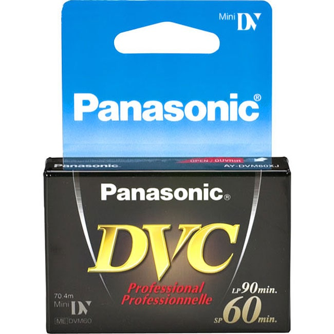 Panasonic DVM-60XJ1 Pro MiniDV Video Cassette
