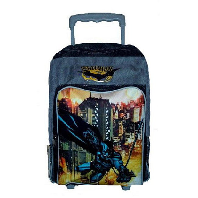 Batman Rolling Backpack