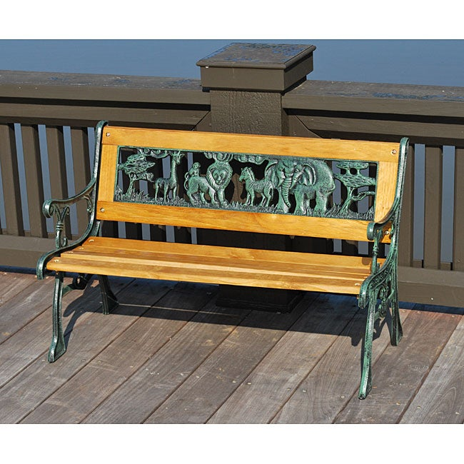 Children 39 S Animal Park Bench Free Shipping Today